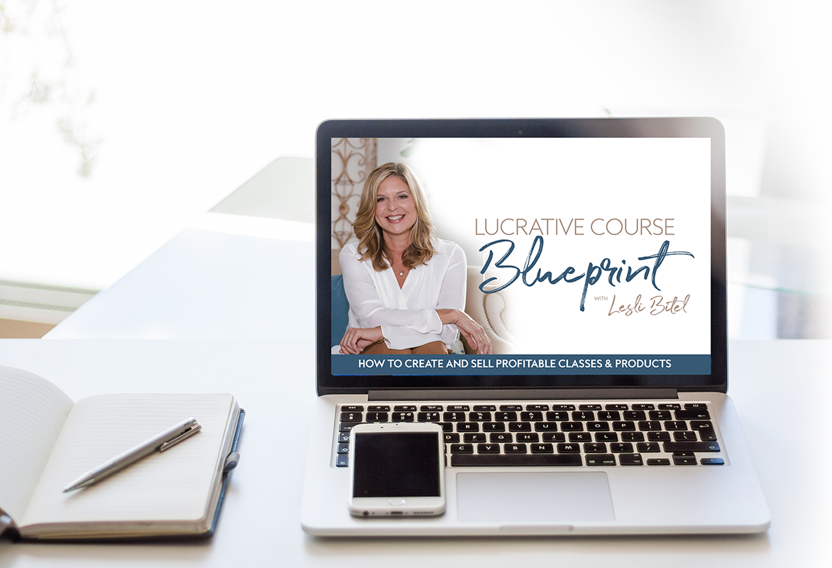 lesli bitel coaching lucrative course blueprint course