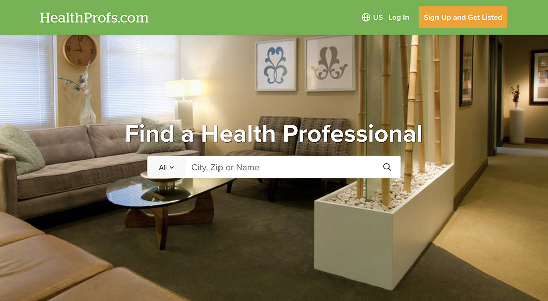 HealthProfs professional nutritionist dietition directory